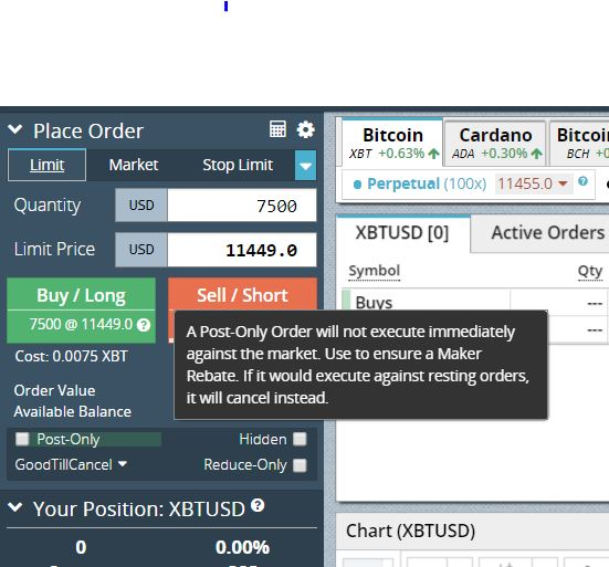 Direct BitMEX Trading Support - Support Board - Sierra Chart
