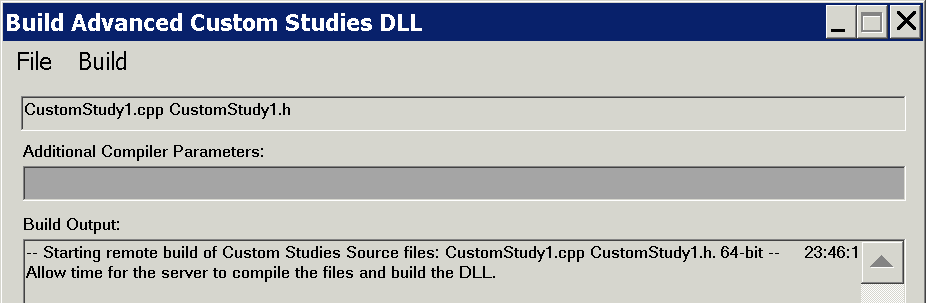 Advanced Custom Study/System Interface and Language (ACSIL