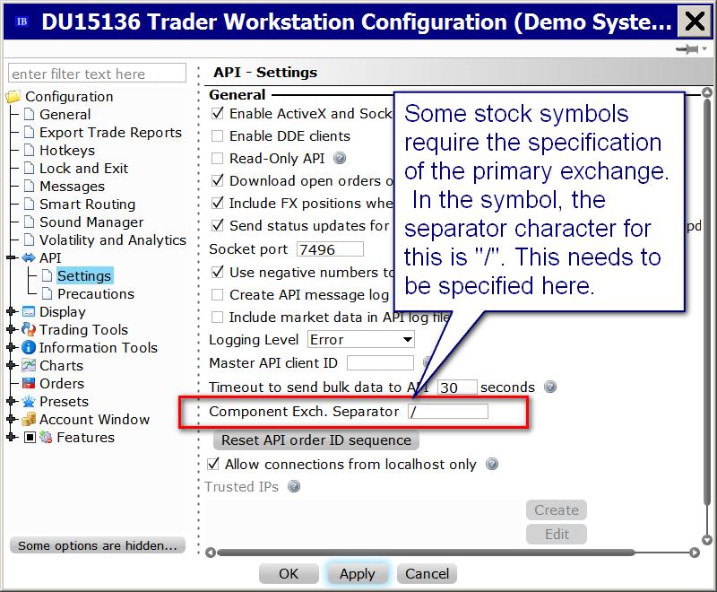 Interactive Brokers Symbols Sierra Chart