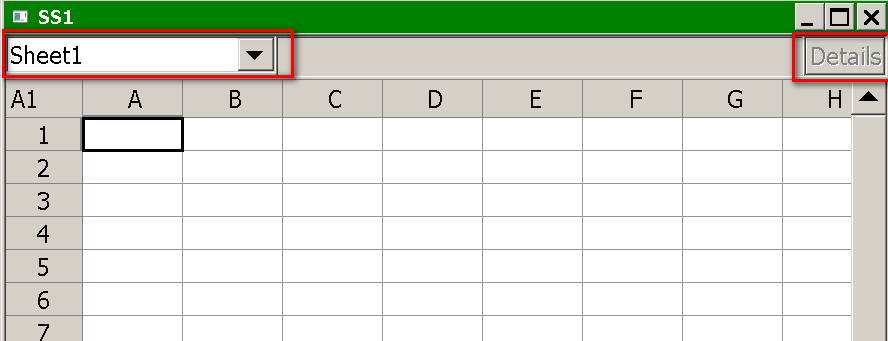 working with spreadsheets sierra chart